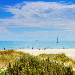 Henley Beach in Adelaide